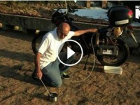 Motorbike that can travel over 300 miles on just 1 liter of water