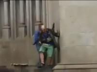 homeless armed